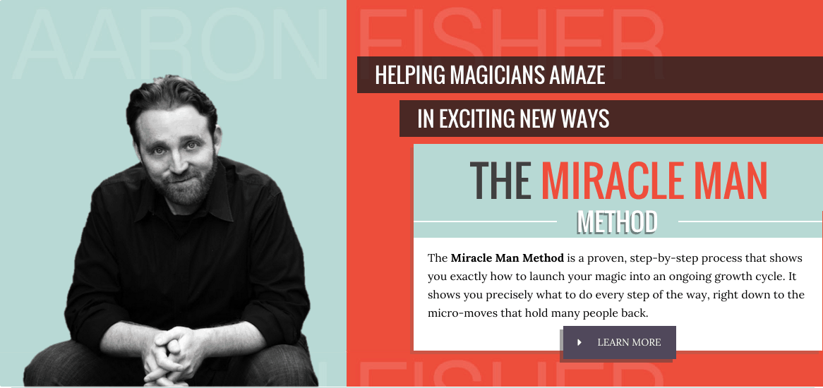 Aaron Fisher Magician