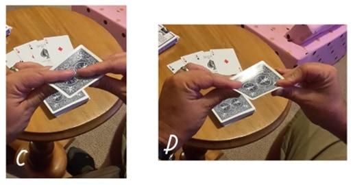 four ace trick c