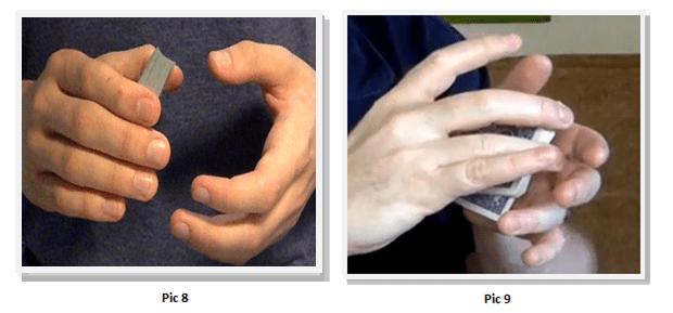 card tricks easy palm