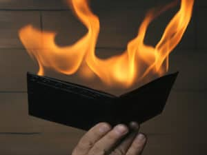magic tricks with cards fire wallet