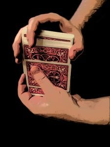 magic trick shuffle system