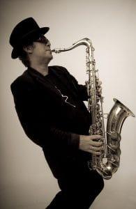 polished show playing jazz